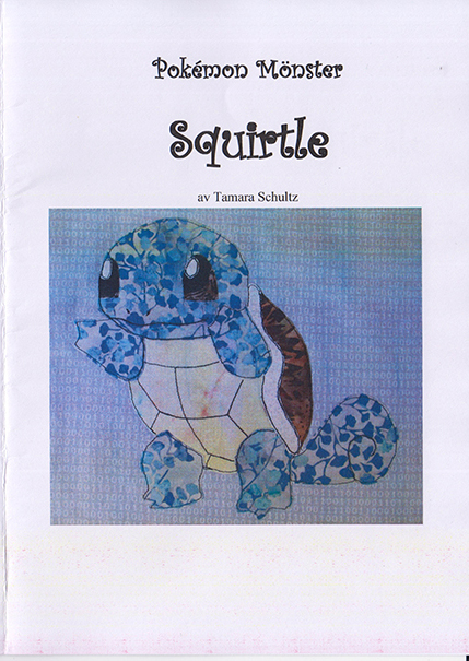 Mönster - Squirtle